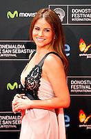 Monica Hoyos posses in the photocall of the 61 San Sebastian Film Festival, in San Sebastian, Spain. September 20, 2013. (ALTERPHOTOS/Victor Blanco) /NortePhoto