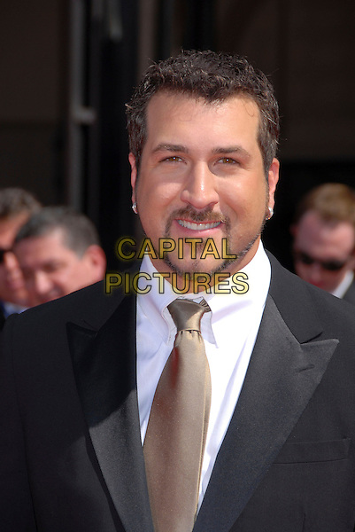 JOEY FATONE.59th Annual Primetime Emmy Awards held at the Shrine Auditorium, Los Angeles, California, USA..September 16th, 2007.headshot portrait goatee facial hair  .CAP/ADM/BP.©Byron Purvis/AdMedia/Capital Pictures.
