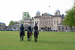 Badminton, Gloucestershire, United Kingdom, 4th May 2019, Horses out hacking ahead of the Cross Country Phase of the 2019 Mitsubishi Motors Badminton Horse Trials, Credit:Jonathan Clarke/JPC Images