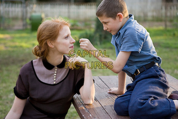 Jessica Chastain and Tye Sheridan.in The Tree of Life.*Filmstill - Editorial Use Only*.CAP/NFS.Supplied by Capital Pictures.
