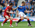 Peter Pawlett and Jerome Rothen