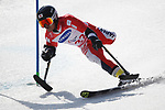 Hiraku Misawa (JPN), <br /> MARCH 14, 2018 - Alpine Skiing : <br /> men's Giant Slalom Standing <br /> at Jeongseon Alpine Centre  <br /> during the PyeongChang 2018 Paralympics Winter Games in Pyeongchang, South Korea. <br /> (Photo by Sho Tamura/AFLO SPORT)