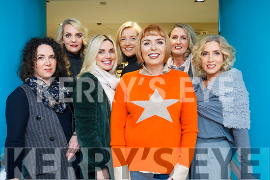 Staff and Models behind the scene at they prepare for the  Weardrobe Tralee &amp; Killarney fashion show in CH Chemists, Tralee on Friday evening last.<br /> L to R: Amanda Tarrant (Weardrobe), Suzanne Sheehy, Linda Lowth, Sandra Rusk (Weardrobe), Tish O'Flaherty, Pauline Gleasure and Helen Leahy.