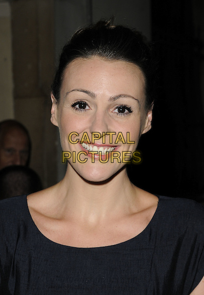 "SURANNE JONES.""Top Girls"" theatre press night, Trafalgar Studios 1, Whitehall, London, England..August 16th, 2011.headshot portrait black  .CAP/CAN.©Can Nguyen/Capital Pictures."