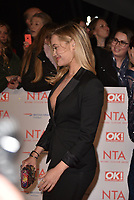 Laura Whitmore attending the National Television Awards 2018 at The O2 Arena on January 23, 2018 in London, England. <br /> CAP/Phil Loftus<br /> &copy;Phil Loftus/Capital Pictures