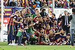 FC Barcelona's team  during Spanish Kings Cup Final match. May 22,2016. (ALTERPHOTOS/Rodrigo Jimenez)