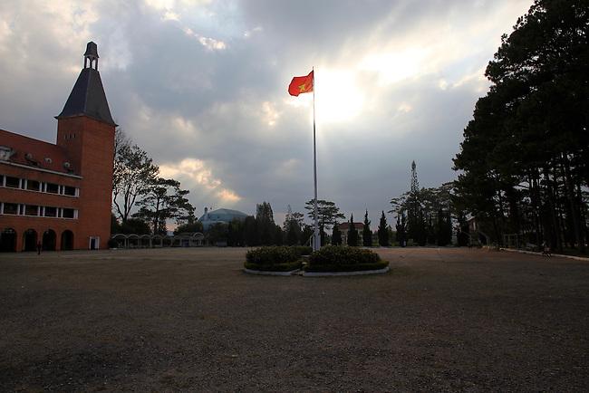 Dalat University. Dalat, Vietnam. April 20, 2016.