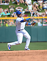 Chicago Cubs Starlin Castro (13) during a spring training game against the San Diego Padres on March 9, 2015 at Sloan Park in Mesa, AZ. The Padres beat the Cubs 6-3.