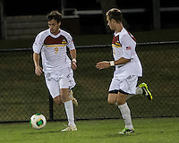 The Winthrop University Eagles lose 2-1 in a Big South contest against the Campbell University Camels.  Mason Lavallet (9), Cody Winter (2)