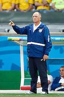 Brazil head coach Luiz Felipe Scolari