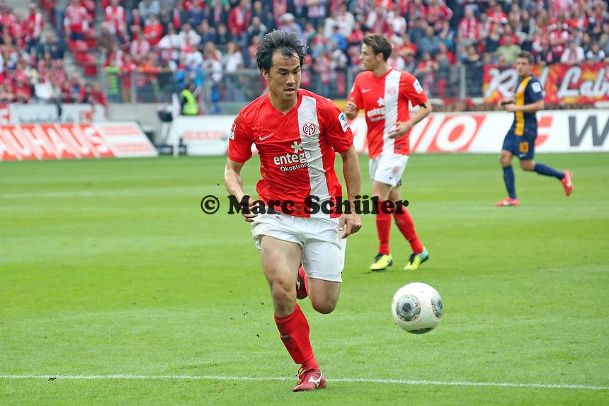 Shinji Okazaki (Mainz) - 1. FSV Mainz 05 vs. Eintracht Braunschweig, Coface Arena, 10. Spieltag