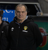 Leeds United manager Marcelo Bielsa <br /> <br /> Photographer David Horton/CameraSport<br /> <br /> The EFL Sky Bet Championship - Reading v Leeds United - Tuesday 12th March 2019 - Madejski Stadium - Reading<br /> <br /> World Copyright &copy; 2019 CameraSport. All rights reserved. 43 Linden Ave. Countesthorpe. Leicester. England. LE8 5PG - Tel: +44 (0) 116 277 4147 - admin@camerasport.com - www.camerasport.com