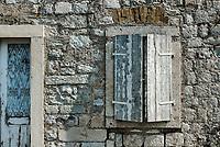 Rustic home detail, Kotor, Montenegro.