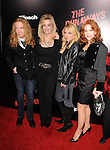 HOLLYWOOD, CA. - March 11: Marie Curie and family arrive at the Los Angeles Premiere of The Runaways at ArcLight Cinemas Cinerama Dome on March 11, 2010 in Hollywood, California.