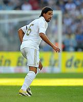 FUSSBALL   INTERNATIONAL   SAISON 2011/2012   TESTSPIEL Herha BSC Berlin - Real Madrid         27.07.2011      Sami KHEDIRA (Real Madrid)