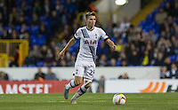 Tom Carroll of Tottenham Hotspur in action during the UEFA Europa League match between Tottenham Hotspur and Qarabag FK at White Hart Lane, London, England on 17 September 2015. Photo by Andy Rowland.