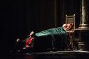 London, UK. 07.12.2012. MATTHEW BOURNE'S SLEEPING BEAUTY: A GOTHIC FAIRYTALE premieres at Sadler's Wells. Ben Bunce (Caradoc) and Hannah Vassallo (Aurora) in Act III. Photo credit: Jane Hobson.