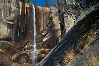 Geological variety at Vernal Fall, fall/autumn, Yosemite National Park, California, United States of America