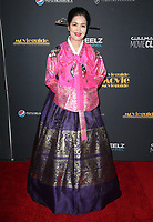 02 February 2018 - Universal City, California - Veronica Ok Ju Choi. 26th Annual Movieguide Awards - Faith And Family Gala. <br /> CAP/ADM/FS<br /> &copy;FS/ADM/Capital Pictures