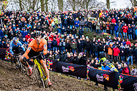 Picture by Alex Whitehead/SWpix.com - 04/02/2018 - Cycling - 2018 UCI Cyclo-Cross World Championships - Valkenburg, The Netherlands - Netherlands' Lars van der Haar in the Elite Men's race.