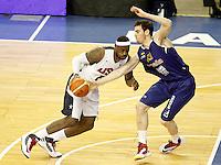 Spain's Victor Claver (r) and USA's LeBron James during friendly match.July 24,2012. (ALTERPHOTOS/Acero) /NortePhoto.com<br /> **CREDITO*OBLIGATORIO** *No*Venta*A*Terceros*<br /> *No*Sale*So*third* ***No*Se*Permite*Hacer Archivo***No*Sale*So*third*©Imagenes*con derechos*de*autor©todos*reservados*.