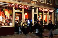 Nederland - Amsterdam -  2018.   Chinees restaurant Si-Chuan op de Zeedijk.  Foto Berlinda van Dam / Hollandse Hoogte