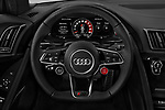 Car pictures of steering wheel view of a 2017 Audi R8 base 2 Door Coupe