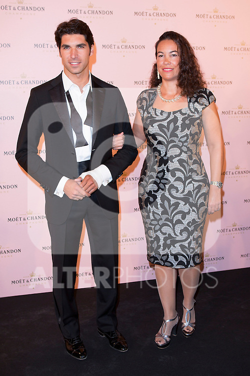 "Cayetano Rivera and Tamara García (CEO of Moet Spain) attends the ""Moon Night Party"" of Moët & Chandon at Casino in Madrid, Spain. September 17, 2014. (ALTERPHOTOS/Carlos Dafonte)"