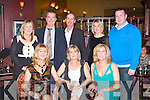 NEW YEAR: Having a great time at the New Year's party and Tralee twin town Westlake, Ohio bicentenary celebrations at the Meadowlands hotel, Tralee on Friday seated l-r: Mary Jones, Helen McElligott and Veronica O'Brein. Back l-r: Shanie Lonergan, Simon Jones, Robert O'Brien, Mary Power and Colm O'Brien..