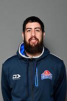 JORDAN NGATAI, NBL Saints - Headshots at ASB Sports Centre, Wellington, New Zealand on Tuesday 9 April 2019. <br /> Photo by Masanori Udagawa. <br /> www.photowellington.photoshelter.com
