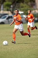 SAN ANTONIO , TX - SEPTEMBER 27, 2009: The Prairie View A&M University Panthers vs. The University of Texas At San Antonio Roadrunners Women's Soccer at the UTSA Soccer Field. (Photo by Jeff Huehn)