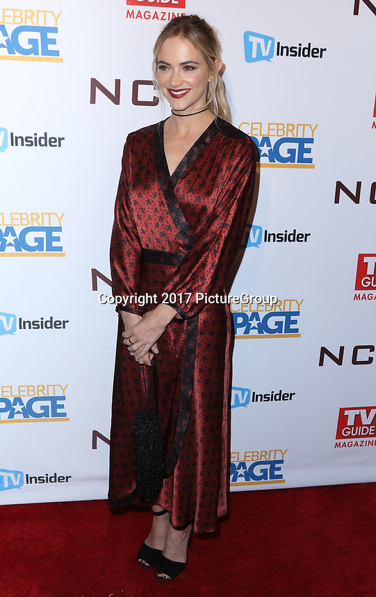 "STUDIO CITY, CA - NOVEMBER 6: Emily Wickersham attends the TV Guide Magazine Cover Party for Mark Harmon and 15 seasons of the CBS show ""NCIS"" at River Rock at Sportsmen's Lodge on November 6, 2017 in Studio City, California. (Photo by JC Olivera/PictureGroup)"