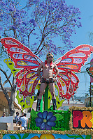 Colorful Male Butterfly, LA Pride 2010 West Hollywood, CA Parade