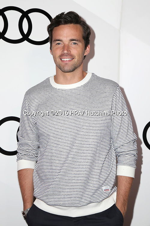 LOS ANGELES - SEP 15:  Ian Harding at the Audi Celebrates The 68th Emmys at the Catch on September 15, 2016 in West Hollywood, CA