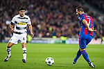 VfL Borussia Monchengladbach's Mahmoud Dahoud, FC Barcelona's Arda Turan  during Champions League match between Futbol Club Barcelona and VfL Borussia Mönchengladbach  at Camp Nou Stadium in Barcelona , Spain. December 06, 2016. (ALTERPHOTOS/Rodrigo Jimenez)