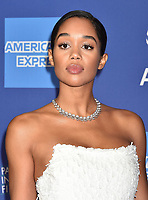 PALM SPRINGS, CA - JANUARY 03: Laura Harrier attends the 30th Annual Palm Springs International Film Festival Film Awards Gala at Palm Springs Convention Center on January 3, 2019 in Palm Springs, California.<br /> CAP/ROT/TM<br /> ©TM/ROT/Capital Pictures