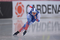 SPEEDSKATING: HAMAR: Vikingskipet, 28-02-2020, ISU World Speed Skating Championships,  Sprint, 500m Ladies, Angelina Golikova (RUS), ©photo Martin de Jong