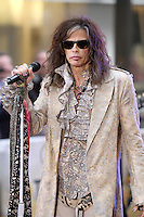 NEW YORK, NY - NOVEMBER 2: Steven Tyler pictured as Aerosmith perform on NBC's Today Show at Rockefeller Center in New York City. November 2, 2012. Credit: RW/MediaPunch Inc. .<br />