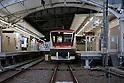 Mar. 11, 2011 - Tokyo, Japan - Jiyugaoka Station is shown empty as a powerful 8.9-magnitude quake hits north-eastern Japan, tsunami feared.