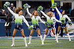 Seattle Seahawks Seagals perform at  CenturyLink Field in Seattle, Washington on November 27, 2011.  ©2011 Jim Bryant Photo. All Rights Reserved.