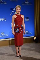 Kristen Bell at the nominations announcement for the 75th Annual Golden Globe Awards at The Beverly Hilton Hotel, Beverly Hills, USA 11 Dec. 2017<br /> Picture: Paul Smith/Featureflash/SilverHub 0208 004 5359 sales@silverhubmedia.com
