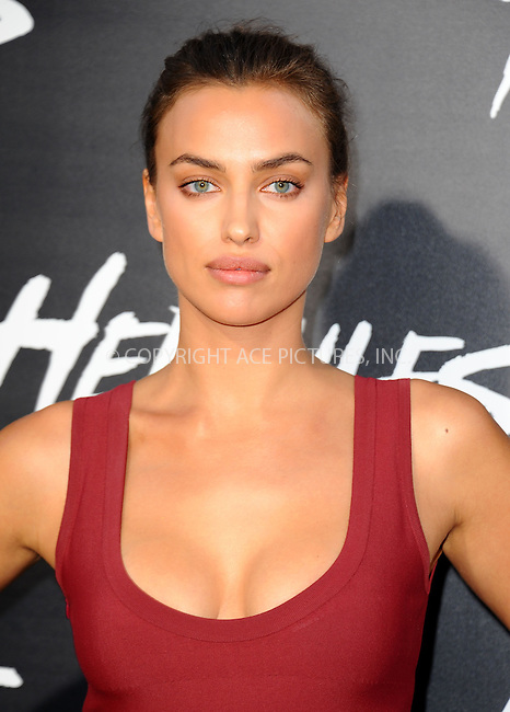 ACEPIXS.COM<br /> <br /> July 23 2014, LA<br /> <br /> Irina Shayk arriving at the Premiere Of Paramount Pictures' 'Hercules' at the TCL Chinese Theatre on July 23, 2014 in Hollywood, California. <br /> <br /> <br /> By Line: Peter West/ACE Pictures<br /> <br /> ACE Pictures, Inc.<br /> www.acepixs.com<br /> Email: info@acepixs.com<br /> Tel: 646 769 0430