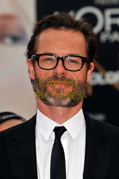 Guy Pearce.'Mildred Pierce' screening arrivals.Venice Film Festival, Italy 2nd Septembert 2011.headshot portrait glasses beard facial hair black white tie.CAP/PL.©Phil Loftus/Capital Pictures.