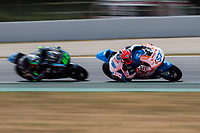 Edgar Pons of Spain and Pons HP40 Team rides during free practice for the Moto2 of Catalunya at Circuit de Catalunya on June 9, 2017 in Montmelo, Spain.(ALTERPHOTOS/Rodrigo Jimenez) (NortePhoto.com) (NortePhoto.com)