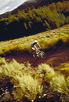 Brad O'Neil (MR40) mountain biking, Summit County, CO. Brad O'Neil (MR40). Summit County, Colorado.
