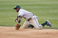 June 22, 2008: The Boise Hawks' Josh Harrison in action against the Everett AquaSox during a Northwest League game at Everett Memorial Stadium in Everett, Washington.
