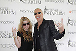 The youngest individual gold medalist in the history of the Olympic Winter Games Tara Lipinski poses with Dee Snider (Twisted Sister) and Celebrity Apprentice - The 2012 Skating with the Stars - a benefit gala for Figure Skating in Harlem celebrating 15 years on April 2, 2012 at Central Park's Wollman Rink, New York City, New York.  (Photo by Sue Coflin/Max Photos)