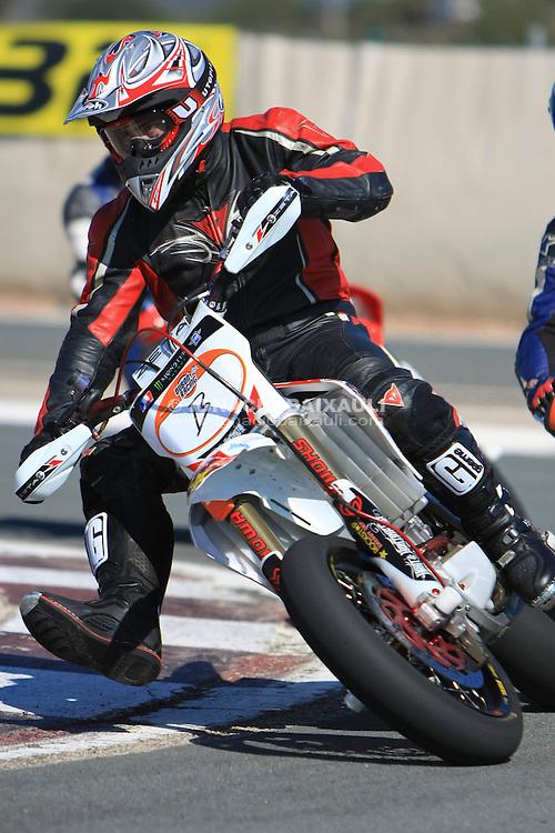 FOTOS DEL SUPERMOTARD by DUBÓN RACING EN EL MINICIRCUITO adjunto al CIRCUITO de la COMUNIDAD VALENCIANA RICARDO TORMO, (22 DE FEBRERO DE 2009), Cheste, Valencia, España, Europa