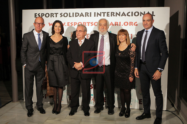 XIe Sopar Solidari d'ESI (Esport Solidari Internacional).<br /> Josep Maldonado, Jordi Cardoner, Amador Bernabeu, Andreu Subies &amp; Sras.