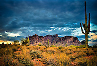 Lost Dutchman in Monsoon season - Arizona - Lost Dutchman State Park